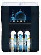 Sheikh Zayed Grand Mosque - Abu Dhabi - Uae Duvet Cover