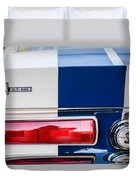 Shelby Cobra G.t. 500 Rear Emblems -0036c Duvet Cover