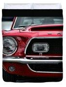 Shelby Mustang Duvet Cover