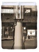 Shell Gas - Wayne Visible Gas Pump 2 Duvet Cover