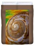 Shell Spiral Duvet Cover