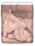 Shellball Huddle Duvet Cover