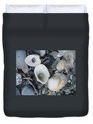 Shells In Shells 2 Duvet Cover