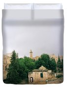 Historic Jerusalem Duvet Cover