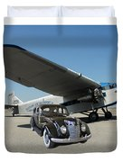Shelter Of Your Wings Duvet Cover