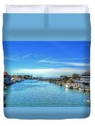 Shem Creek Duvet Cover