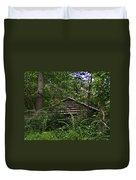 Shenandoah Log Cabin Duvet Cover