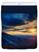 Shenandoah Sunset Duvet Cover
