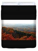 Shenandoah Valley Fall Panorama Duvet Cover