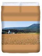 Shenandoah Valley Panorama Duvet Cover