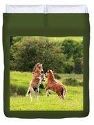 Shetland Pony's Duvet Cover