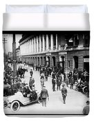Shibe Park 1914 Duvet Cover by Bill Cannon