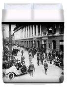 Shibe Park 1914 Duvet Cover