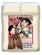 Shih Tzu Art - My Fair Lady Movie Poster Duvet Cover