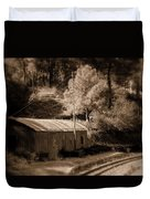Shimla Rail Road Duvet Cover