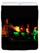 Shimla At Night Duvet Cover