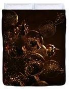 Shimmer In Gold Duvet Cover