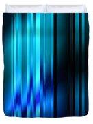 Shimmering Curtain Duvet Cover