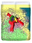 Shimmering Lobster Duvet Cover