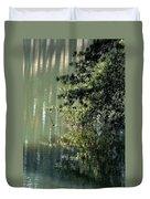 Shimmering Pine Duvet Cover