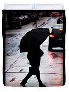 Shine Of Streets Duvet Cover