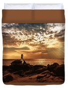 Shine On Me Duvet Cover by Mary Amerman
