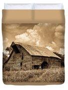 Shingle Barn Sepia 2 Duvet Cover