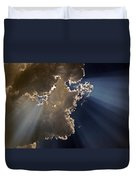 Shining The Light Duvet Cover