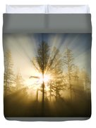 Shining Through Duvet Cover by Peggy Collins