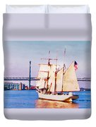 Ship Coming In Duvet Cover