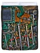 Ship Engine Duvet Cover