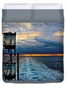 Ship Lamps Duvet Cover