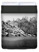 Ship Rock Island Duvet Cover