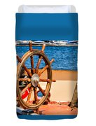 Ship Wheel Duvet Cover