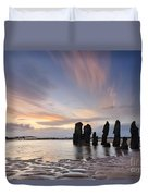 Ship Wreck Duvet Cover