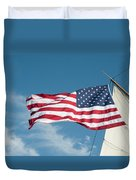 Ship's Flag Duvet Cover