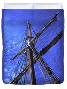 Ships Rigging - 2 Duvet Cover