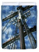 Ships Rigging Duvet Cover