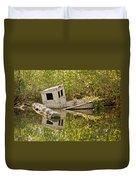 Shipwreck Silver Springs Florida Duvet Cover