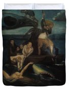 Shipwrecked Psyche Unfinished Duvet Cover