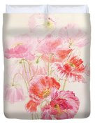 Shirley Poppies Duvet Cover