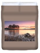 Shiroka Polyana Lake  Duvet Cover