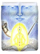 Shiva Duvet Cover by Keiko Katsuta
