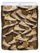 Shoe Art Duvet Cover