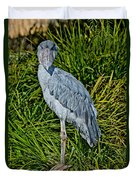 Shoebill Stork Duvet Cover