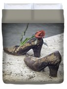 Shoes On The Danube Bank Duvet Cover