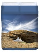 Shoofly Arch Basin And Range Duvet Cover