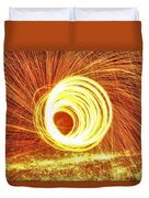 Shooting Sparks Duvet Cover