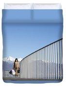 Shopping Bags Duvet Cover