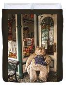 Shopping's A Bear Duvet Cover